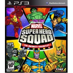 Foto Jogo Marvel Super Hero Squad: The Infinity Gauntlet PlayStation 3 THQ