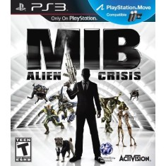 Foto Jogo Men in Black: Alien Crisis PlayStation 3 Activision
