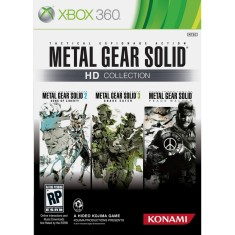 Foto Jogo Metal Gear Solid HD Collection Xbox 360 Konami