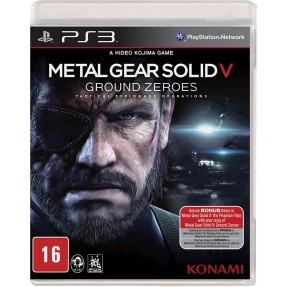 Foto Jogo Metal Gear Solid V: Ground Zeroes PlayStation 3 Konami