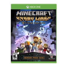 Foto Jogo Minecraft Story Mode Season Pass 1-5 Xbox One Telltale