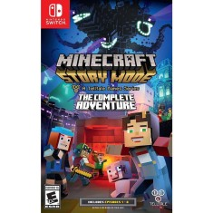 Foto Jogo Minecraft Story Mode The Complete Adventure Nintendo Switch
