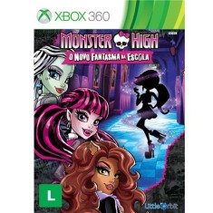 Foto Jogo Monster High: O Novo Fantasma da Escola Xbox 360 Little Orbit