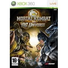 Foto Jogo Mortal Kombat vs DC Universe Xbox 360 Midway
