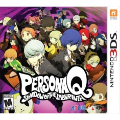 Foto Jogo Persona Q: Shadow of the Labyrinth Atlus Nintendo 3DS