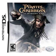 Foto Jogo Pirates of the Caribbean: At World's End Disney Nintendo DS