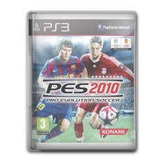 Foto Jogo Pro Evolution Soccer 2010 PlayStation 3 Konami