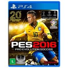 Foto Jogo Pro Evolution Soccer 2016 PS4 Konami