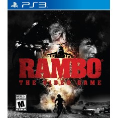 Foto Jogo Rambo The Video Game PlayStation 3 Reef Entertainment