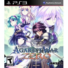 Foto Jogo Record of Agarest War Zero PlayStation 3 Aksys Games