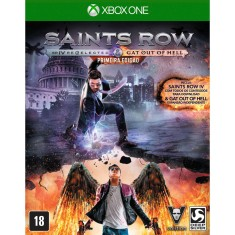 Foto Jogo Saints Row IV Re-elected + Gat Out of Hell Xbox One Deep Silver