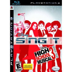 Foto Jogo Sing It! High School Musical 3: Senior Year PlayStation 3 Disney