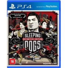 Foto Jogo Sleeping Dogs PS4 Square Enix