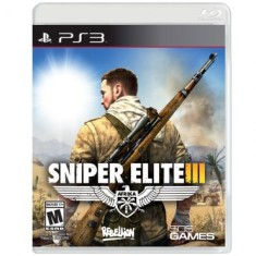Foto Jogo Sniper Elite III PlayStation 3 505 Games