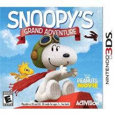 Foto Jogo Snoopy`s Grand Adventure Activision Nintendo 3DS