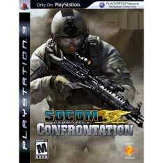 Foto Jogo Socom Us Navy Seals Confrontation PlayStation 3 Sony