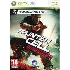 Foto Jogo Splinter Cell Conviction Xbox 360 Ubisoft