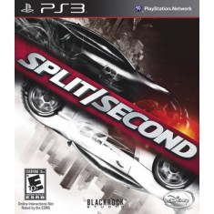 Foto Jogo Split Second PlayStation 3 Black Rock