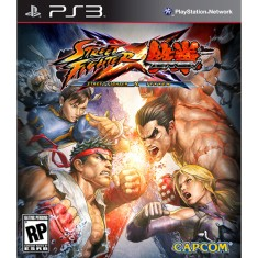 Foto Jogo Street Fighter X Tekken PlayStation 3 Capcom