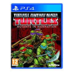 Foto Jogo Teenage Mutant Ninja Turtles Mutants in Manhattan PS4 Activision