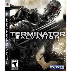 Foto Jogo Terminator Salvation PlayStation 3 Evolved