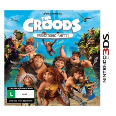Foto Jogo The Croods: Prehistoric Party! D3 Publisher Nintendo 3DS