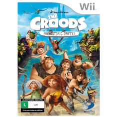 Foto Jogo The Croods: Prehistoric Party! Wii D3 Publisher