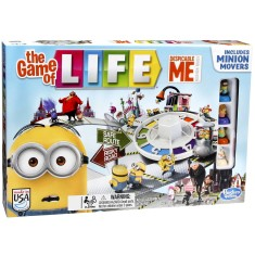 Foto Jogo The Game of Life Meu Malvado Favorito Hasbro