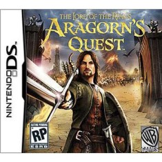 Foto Jogo The Lord of the Rings Aragorn's Quest Warner Bros Nintendo DS