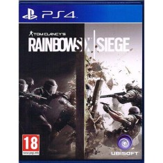 Foto Jogo Tom Clancy's Rainbow Six Siege PS4 Ubisoft