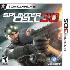 Foto Jogo Tom Clancy's Splinter Cell 3D Ubisoft Nintendo 3DS