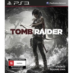 Foto Jogo Tomb Raider PlayStation 3 Square Enix