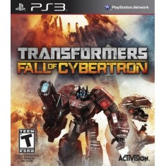 Foto Jogo Transformers: Fall Of Cybertron PlayStation 3 Activision