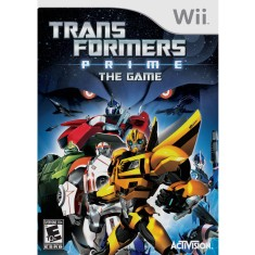 Foto Jogo Transformers: Prime Wii Activision