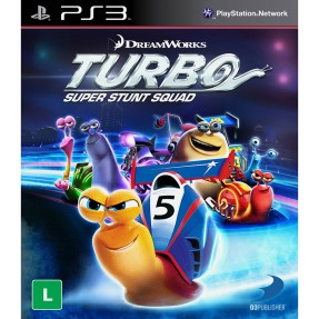 Foto Jogo Turbo: Super Stunt Squad PlayStation 3 D3 Publisher