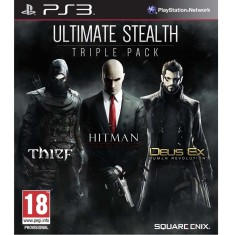 Foto Jogo Ultimate Stealth: Trible Pack PlayStation 3 Square Enix