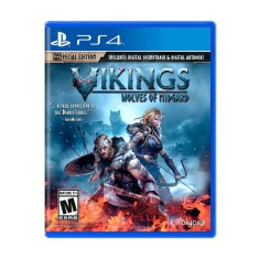 Foto Jogo Vikings Wolves of Midgard PS4 Kalypso Media