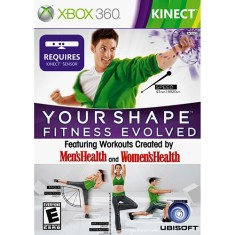 Foto Jogo Your Shape Fitness Evolved: MensHealth and WomensHealth Xbox 360 Ubisoft