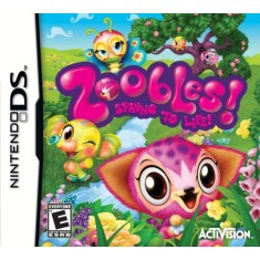 Foto Jogo Zoobles! Spring To Life Activision Nintendo DS
