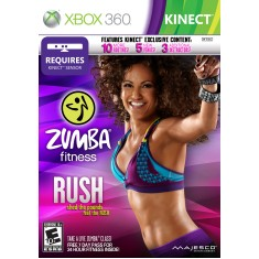 Foto Jogo Zumba Fitness Rush Xbox 360 Majesco Entertainment