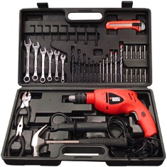 Foto Kit Furadeira Impacto 1/2 500W Black&Decker - HD500KS