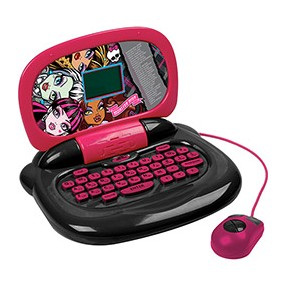 Foto Laptop Infantil Monster High 30 Atividades Candide 4060