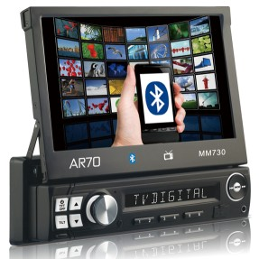 Foto Media Receiver AR70 MM730 Touchscreen USB