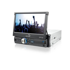 "Foto DVD Player Automotivo Multilaser 7 "" P3211 USB TV Digital"