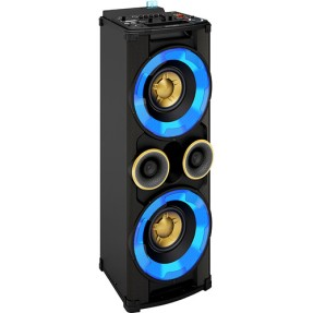 Foto Mini System Philips NTRX500X 500 Watts Karaokê Ripping USB Bluetooth