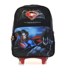 Foto Mochila com Rodinhas Escolar Luxcel Batman vs Superman IC31442SB