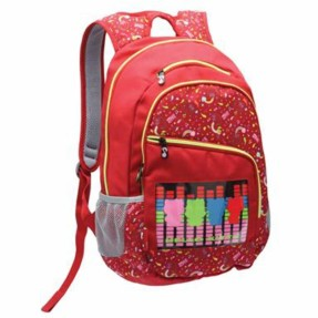 Foto Mochila Escolar Choice Bag Hello Kitty com Compartimento para Notebook Hello Kitty Music Choice
