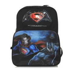 Foto Mochila Escolar Luxcel Batman vs Superman IS31441SB