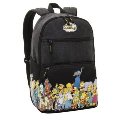 Foto Mochila Escolar Pacific Simpsons Neighbours 7402304
