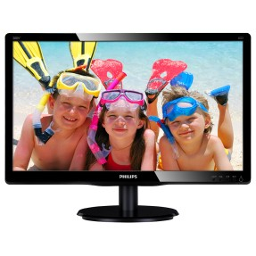 "Foto Monitor LED 19,5 "" Philips 200V4LSB"